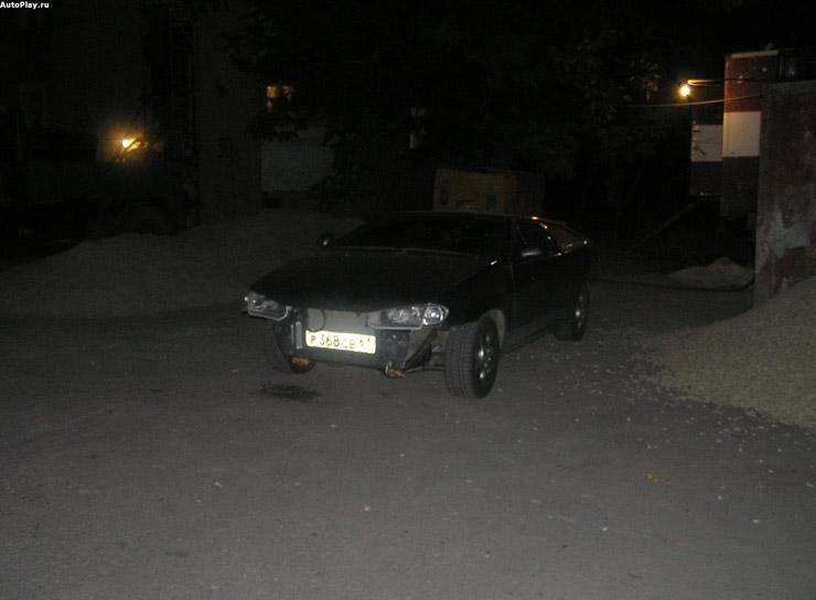 Lamborghini alike car from the cheap Lada 2