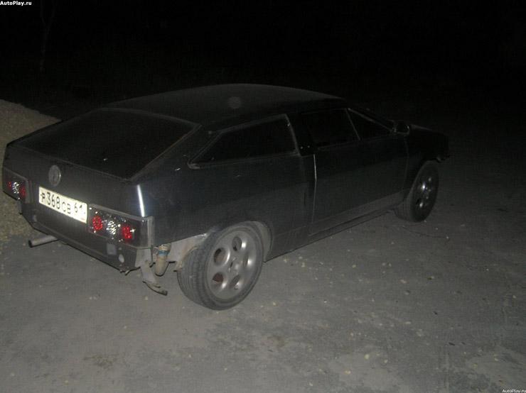 Lamborghini alike car from the cheap Lada 5