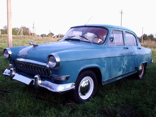 Russian car volga looks like Ford 1