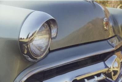 Russian car volga looks like Ford 2