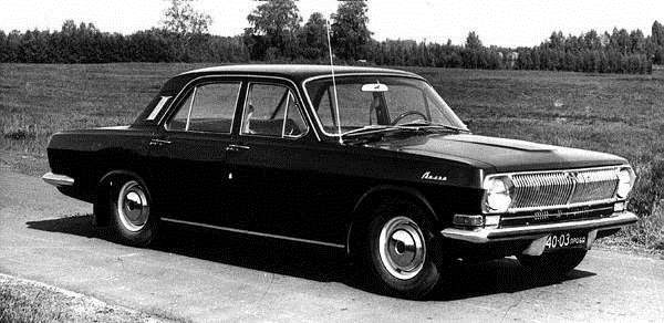 Experimental modification of Volga - Gaz-24-95 landrover 1