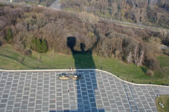 volgograd monument \