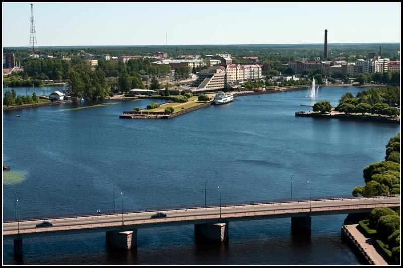 Vyborg Bathing In The July Sun 5