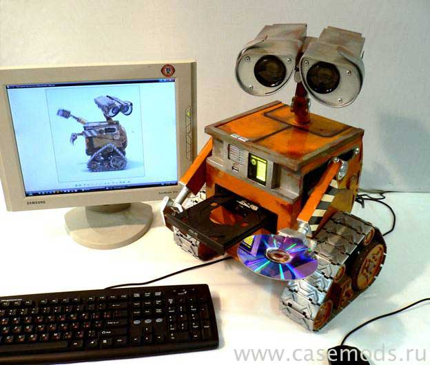 Russian Wall-E case mod 7