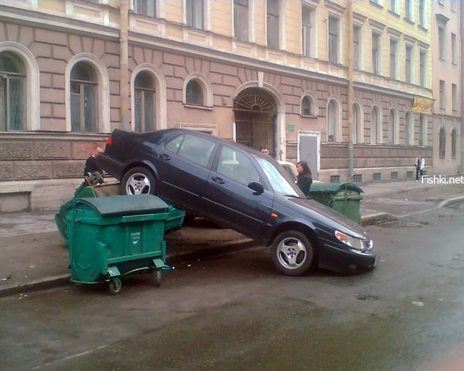 bad parking in Russia 1