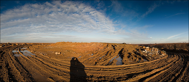 dump of wastes in Moscow, Russia 14
