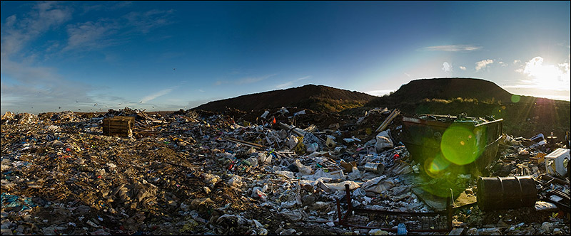 dump of wastes in Moscow, Russia 5