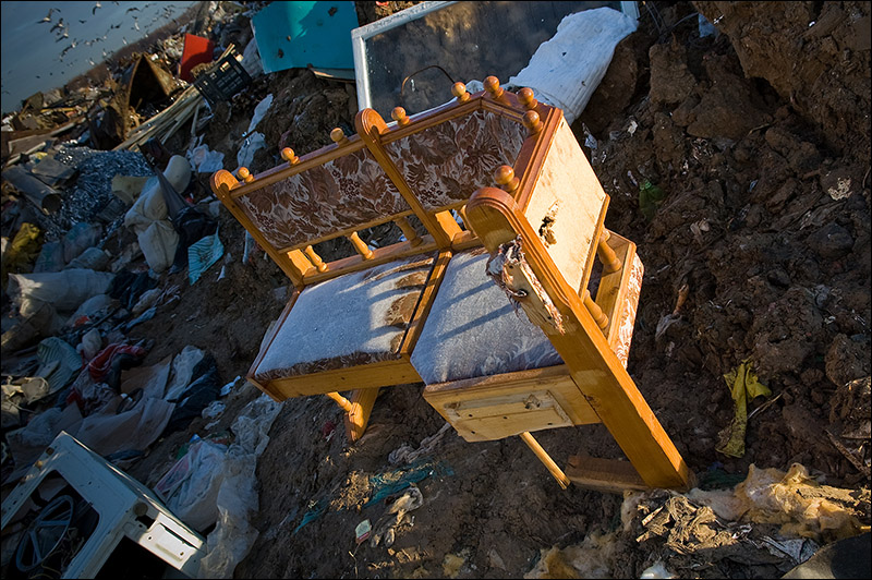 dump of wastes in Moscow, Russia 7