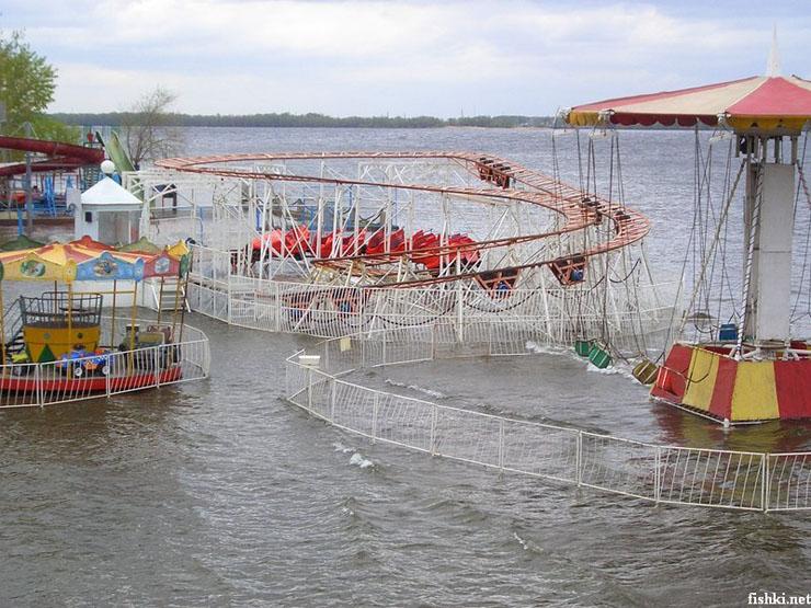 Park goes underwater 5
