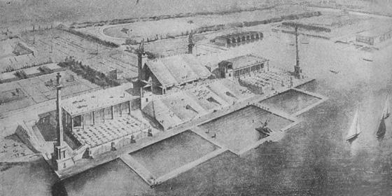 Old Russian water stadium 1
