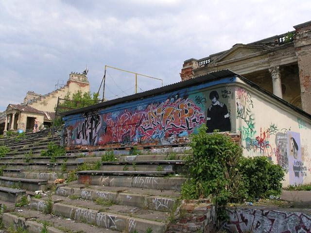 Old Russian water stadium 10