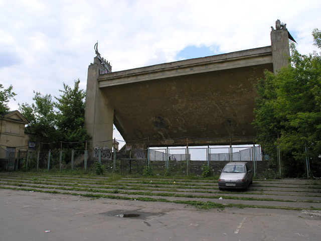 Old Russian water stadium 13