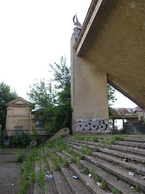 Old Russian water stadium 14