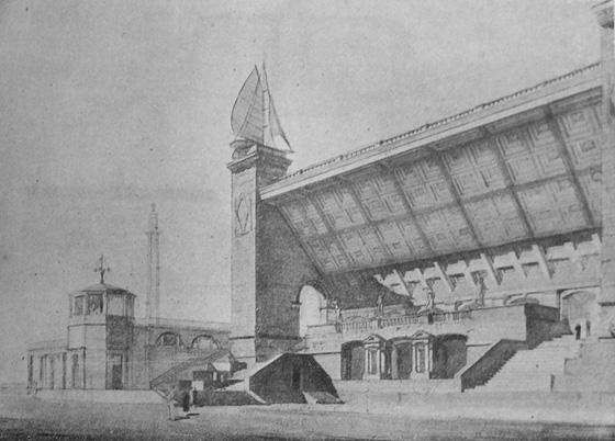 Old Russian water stadium 2