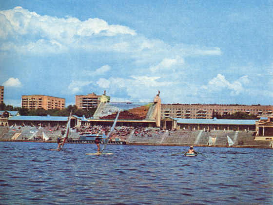 Old Russian water stadium 4