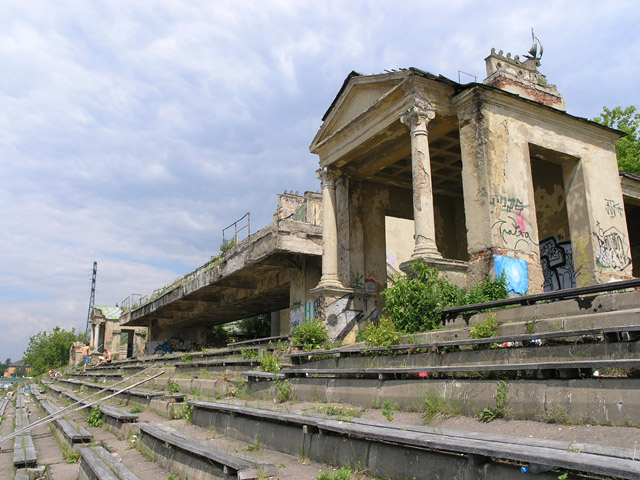 Old Russian water stadium 7