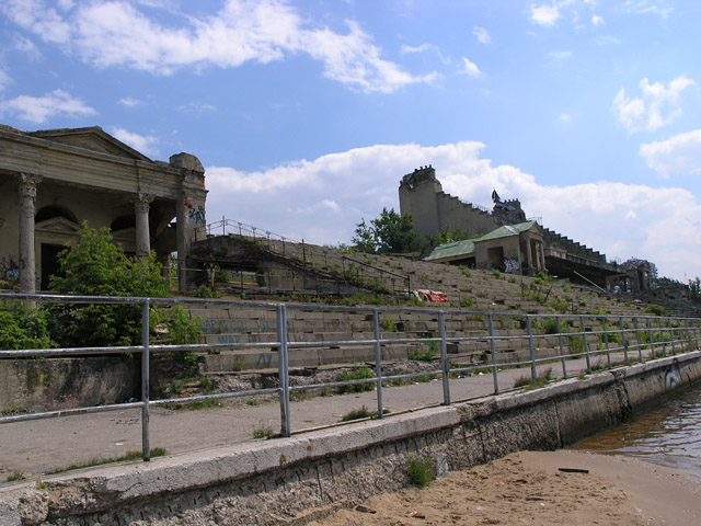 Old Russian water stadium 8