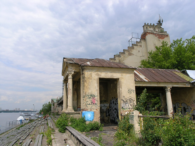Old Russian water stadium 9