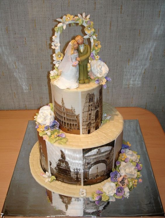 Russian wedding cakes 1