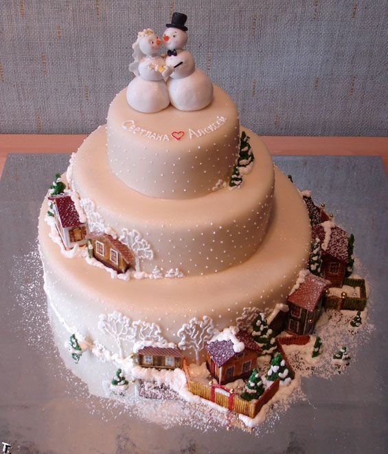 Russian wedding cakes 2