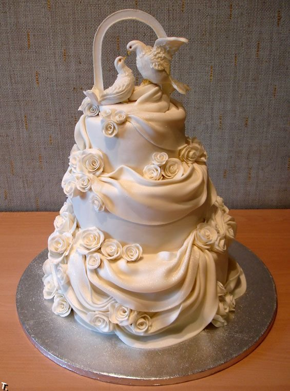 Russian wedding cakes 5