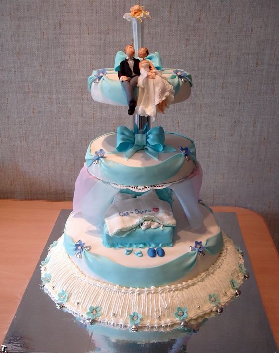 Russian wedding cakes 7
