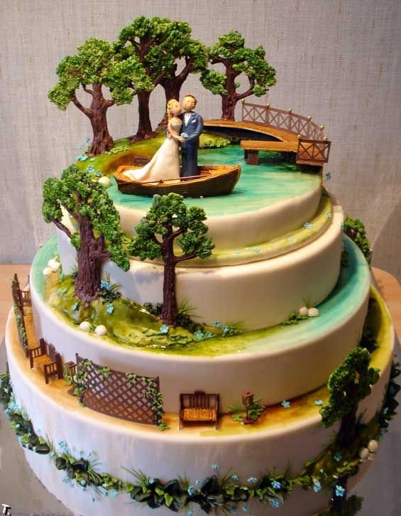 Russian wedding cakes 11