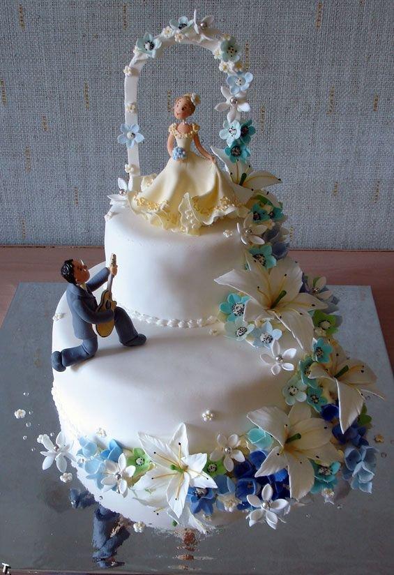 Russian wedding cakes 12