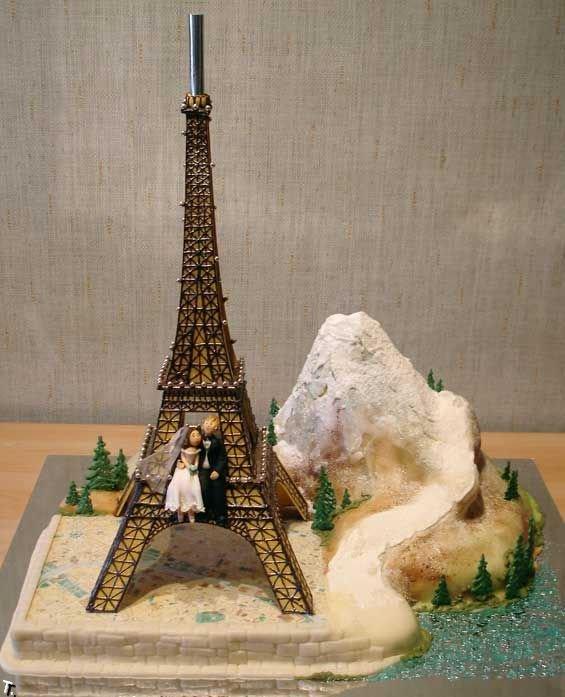 Russian wedding cakes 17