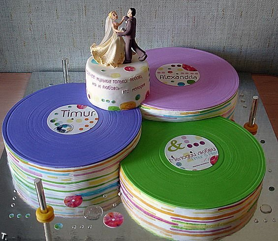 Russian wedding cakes 24