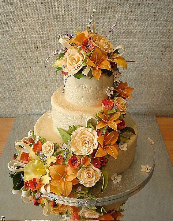 Russian wedding cakes 32