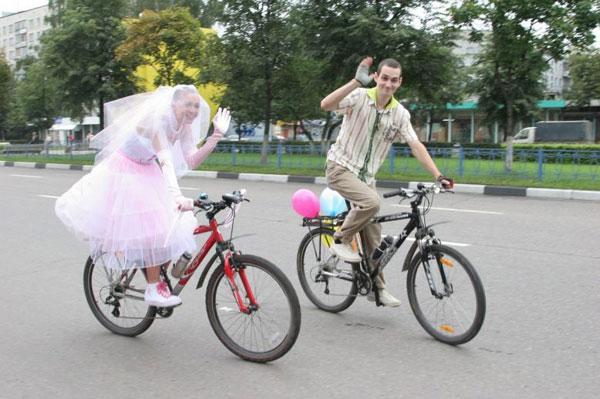 bicycle weddings 6
