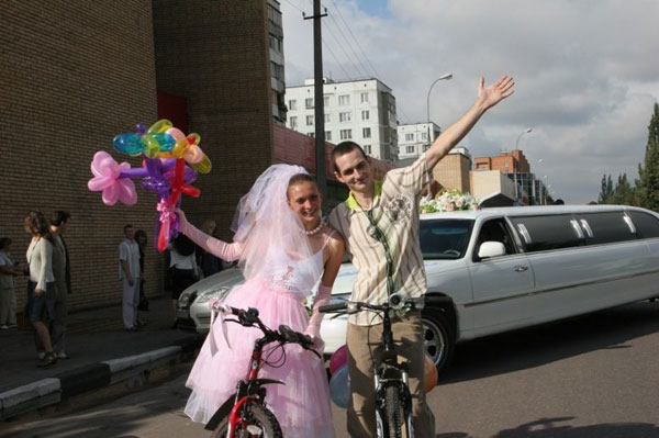 bicycle weddings 9