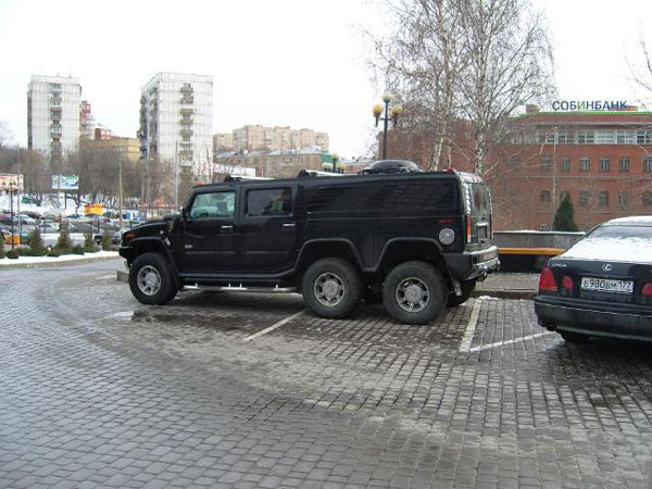 Strange Hummer in Russia 1