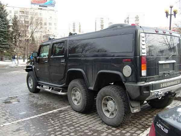 Strange Hummer in Russia 5