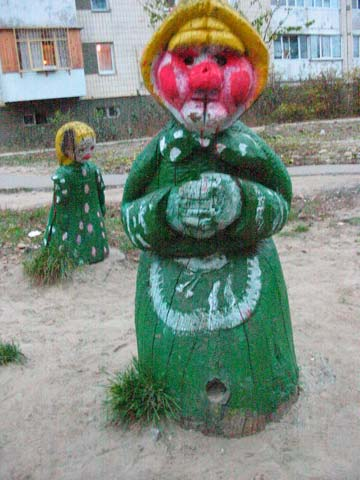 the most weird russian playgrounds for kids 10