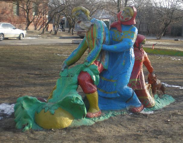 the most weird russian playgrounds for kids 103