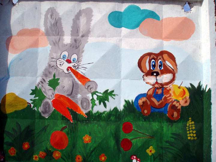 the most weird russian playgrounds for kids 25