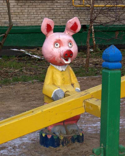 the most weird russian playgrounds for kids 38