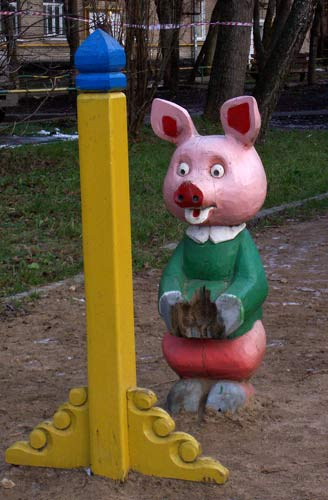 the most weird russian playgrounds for kids 40