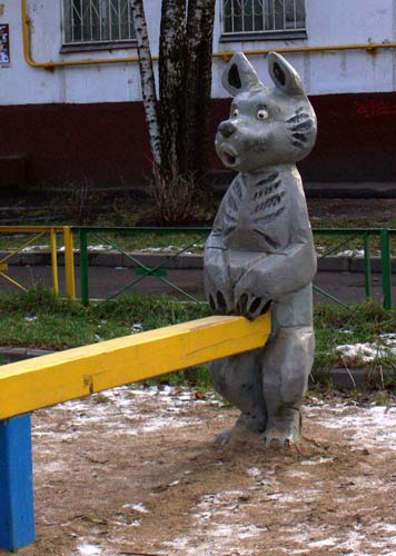 the most weird russian playgrounds for kids 41