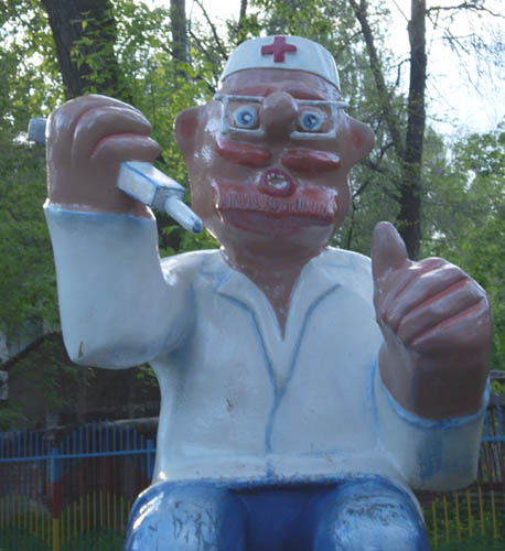 the most weird russian playgrounds for kids 61