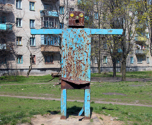 the most weird russian playgrounds for kids 74