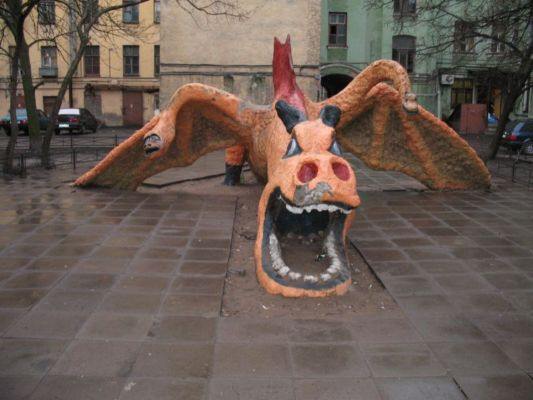 the most weird russian playgrounds for kids 77