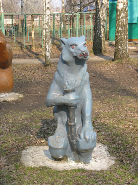 the most weird russian playgrounds for kids 79