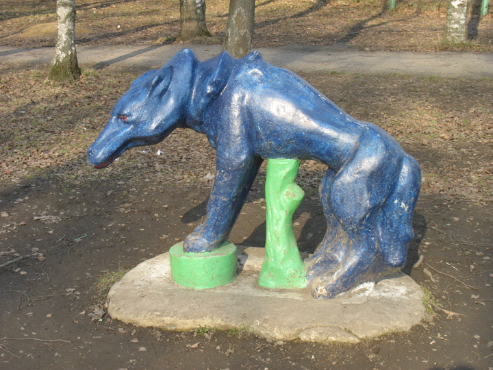 the most weird russian playgrounds for kids 81