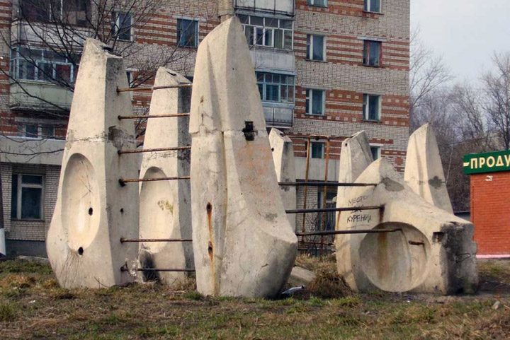 the most weird russian playgrounds for kids 88