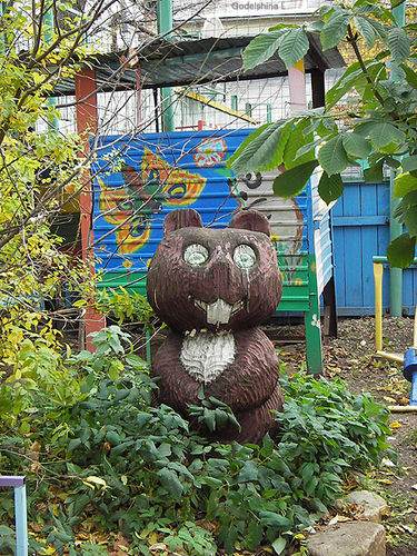 the most weird russian playgrounds for kids 94
