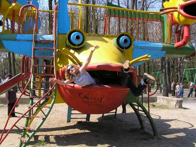 the most weird russian playgrounds for kids 98