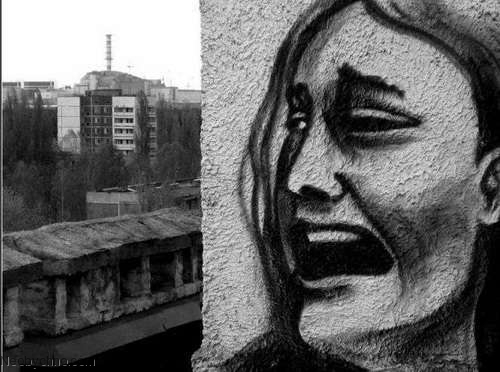 Top 10 Weirdest Graffiti of Pripyat 2